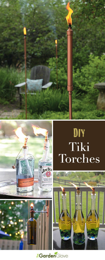 DIY Tiki Torches