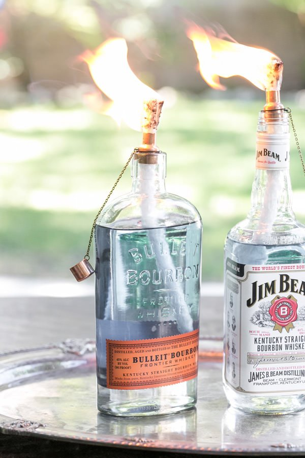 Diy Tiki Torches Light Your Garden The Garden Glove