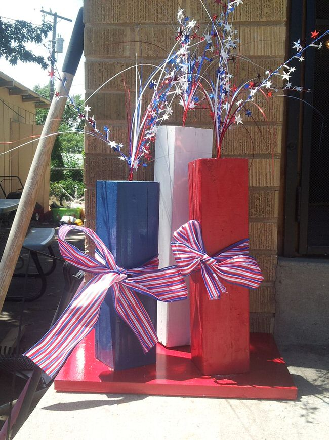 Outdoor 4th of july decor the garden glove for 4th of july decorating ideas for outside