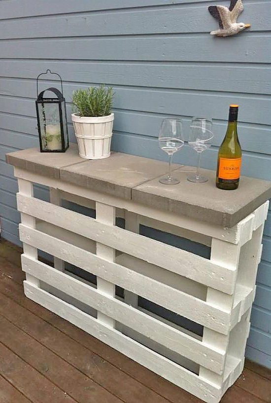 Relax... Have a Cocktail, with These DIY Outdoor Bar Ideas ...