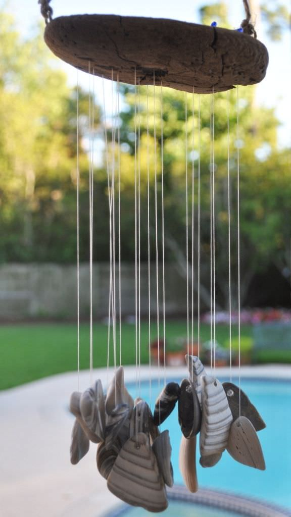 13 crafty diy wind chimes the garden glove