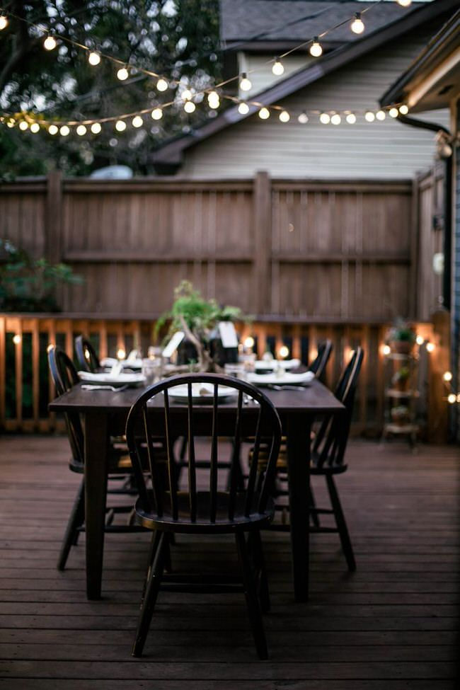 Outdoor Room Ambience: Globe String Lights! The Garden Glove