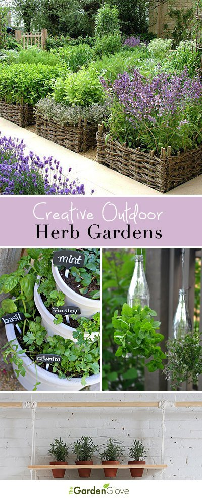 Beau Creative Outdoor Herb Gardens