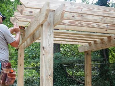 How To Build A Pergola Perfectly The Garden Glove