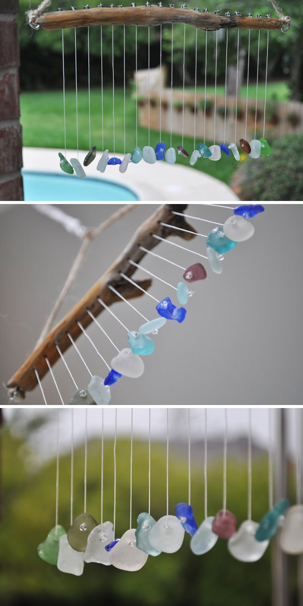 diy wind chime ghost craft 13 crafty diy wind chimes the garden glove 6467