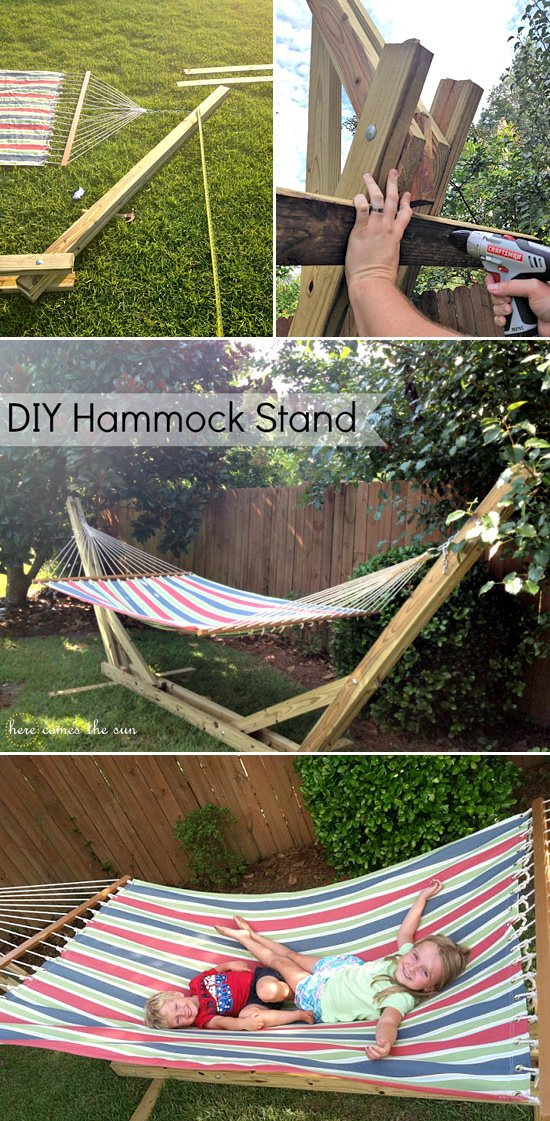 lastly from  u0027instructables u0027 this diy hammock stand has lots of photos to inspire you but we had yet to discover the tutorial u2026 however after reading the     make diy hammocks   the garden glove  rh   thegardenglove