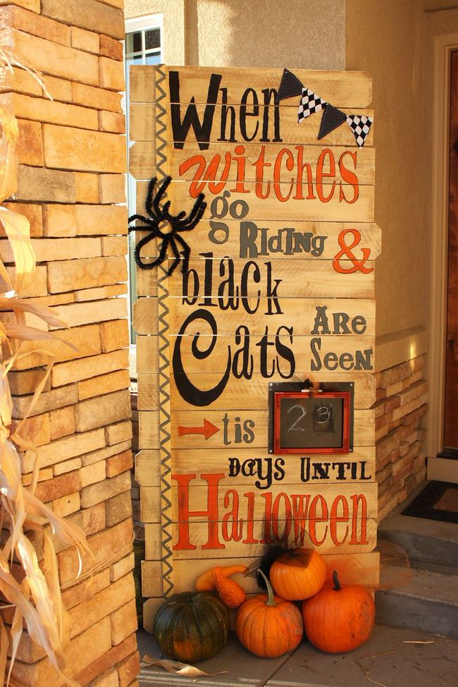 make this halloween house on your house with this easy and