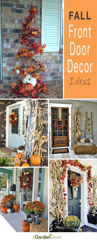 Fall Front Door Decor Ideas