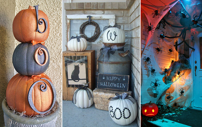 Front Porch Halloween Decorating Ideas