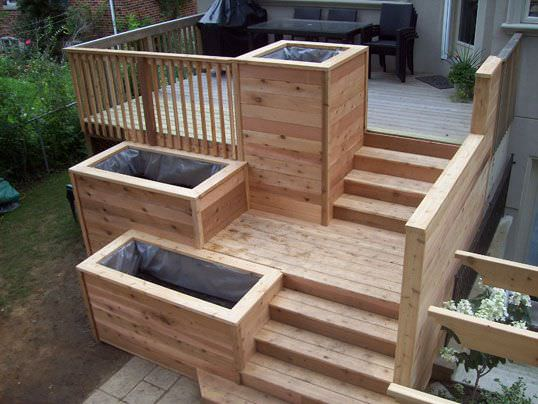how to build deck steps ideas