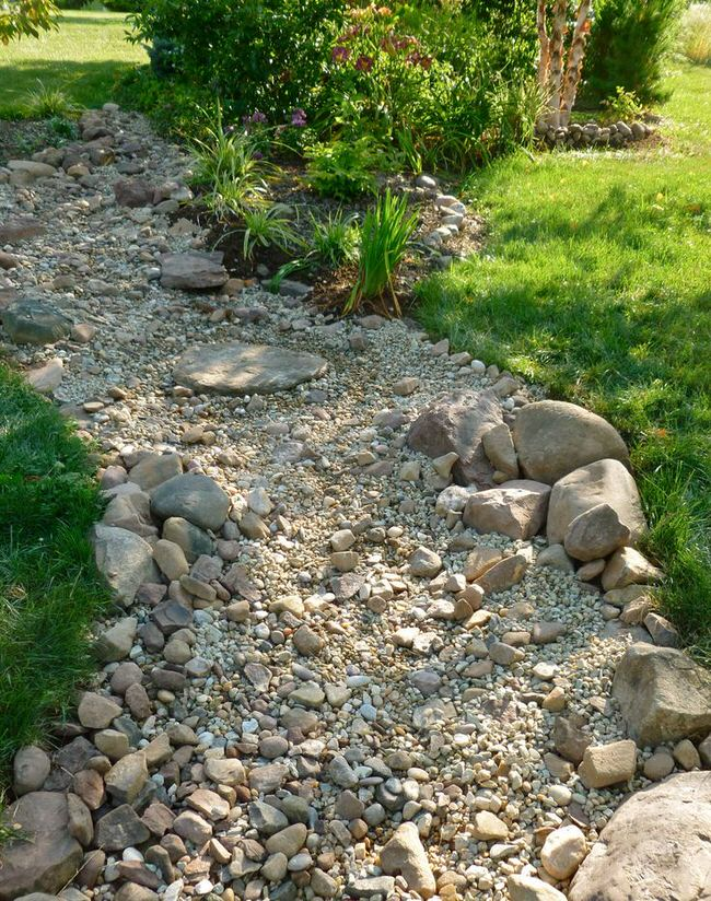 DIY Dry Creek Beds