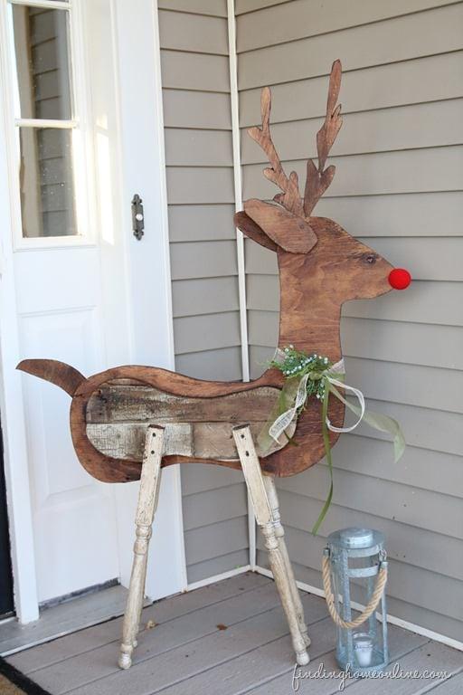 Diy outdoor christmas yard decorations the garden glove
