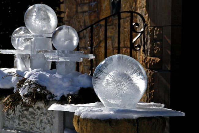 Crafty Outdoor Projects with Ice