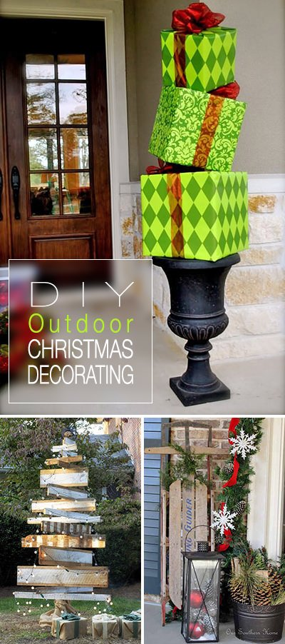 DIY Outdoor Christmas Decorating! | The Garden Glove