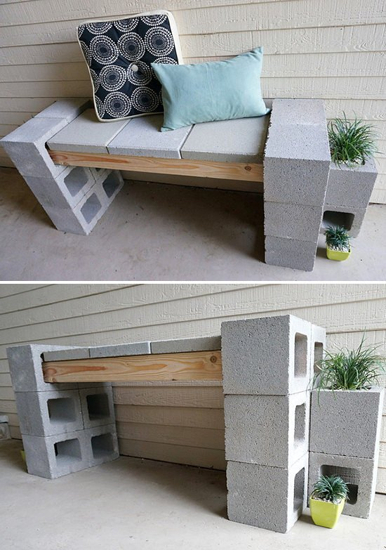 5 Ways To Use Cinder Blocks In The Garden The Garden Glove - Cinder-block-garden-ideas