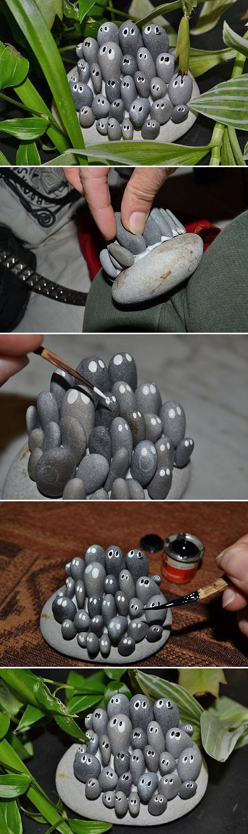 Diy garden trinkets the garden glove for Diy projects with rocks