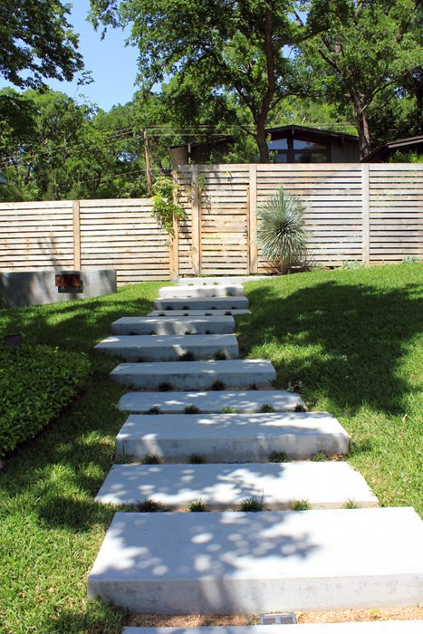Step by Step! : DIY Garden Steps & Outdoor Stairs | The Garden G Cement Sloped Backyard Ideas on flat backyard ideas, tile backyard ideas, uphill backyard ideas, wood backyard deck ideas, waterfront backyard ideas, hilly backyard ideas, tilted backyard ideas, steel backyard ideas, sand backyard ideas, slope backyard ideas, landscaping with rock garden ideas, steep backyard ideas, backyard landscaping ideas, side backyard ideas, wooded backyard ideas, golf course backyard ideas, walkout backyard ideas, slate backyard ideas, tapered backyard ideas, terraced backyard ideas,