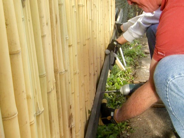 Diy Bamboo Fence Designs