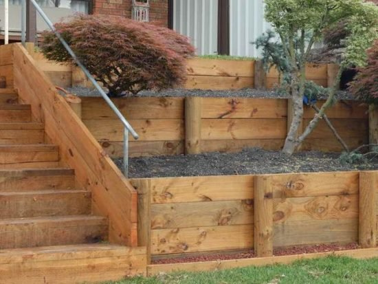 DIY Garden Retaining Walls
