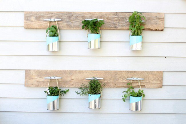 Insanely Cool Herb Garden Container Ideas The Garden Glove