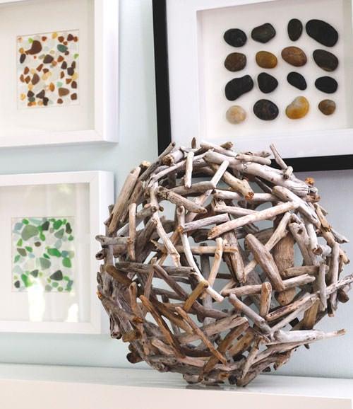 DIY unique garden globes