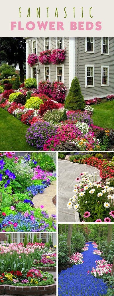 Flower Bed Ideas to Make Your Garden Gorgeous! • The ... on Flower Bed Ideas Backyard id=56455