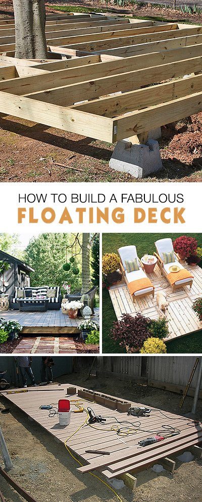 How to Build a Fabulous DIY Floating Deck