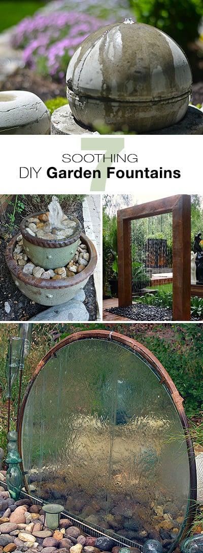 10 Soothing DIY Garden Fountains • The Garden Glove