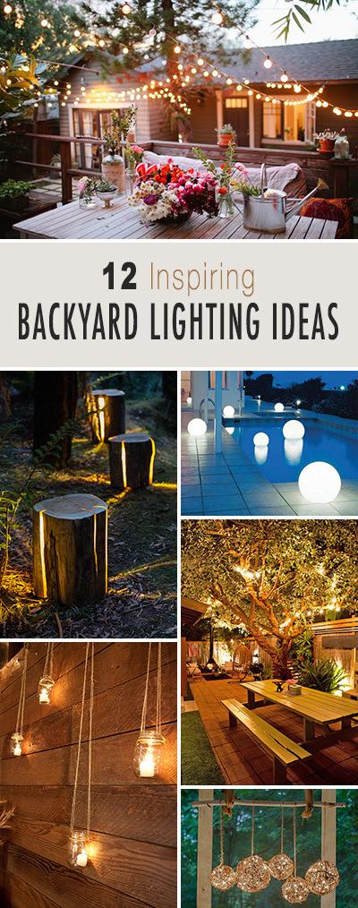 12 inspiring backyard lighting ideas the garden glove