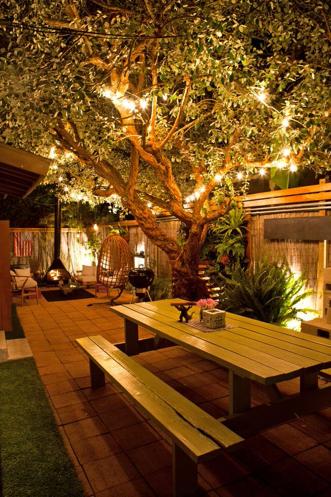 4e8275dc46401c0fc0075a7f4d42db03 backyard lighting ideas