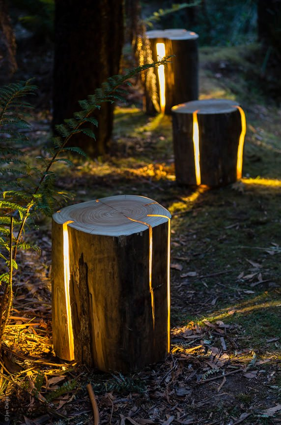 stump lr ww 8 - Garden Ideas Lighting