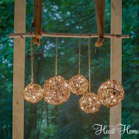 garden string lights