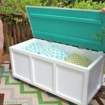 DIY Outdoor Storage Benches