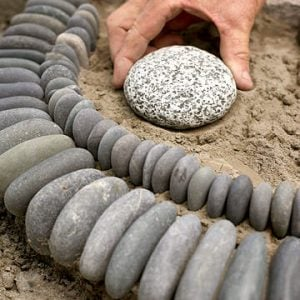 DIY Garden Ideas with Rocks