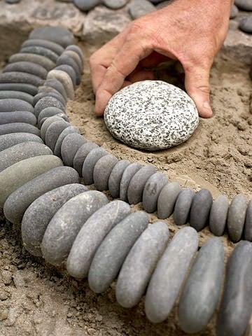 Diy Garden Ideas With Rocks The Garden Glove