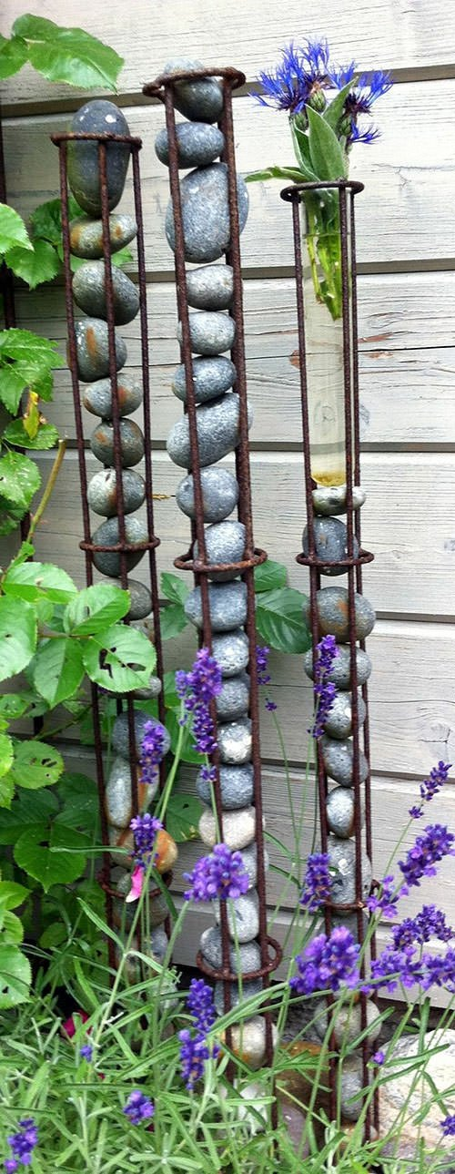 Stone Landscape Projects : Diy garden projects with rocks the glove