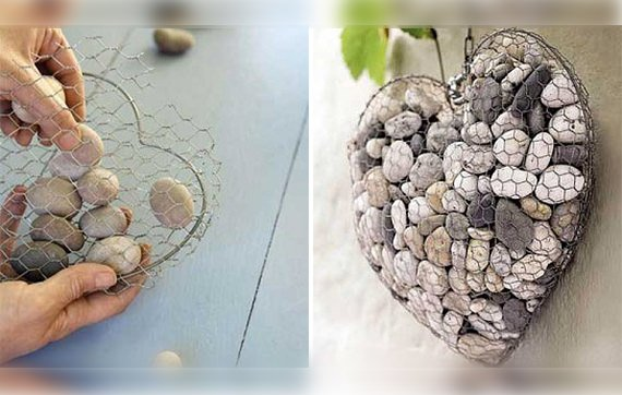 Do It Yourself Home Decorating Ideas: DIY Garden Ideas With Rocks