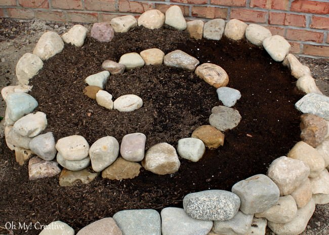Diy garden projects with rocks outdoorbeing for Diy projects with rocks