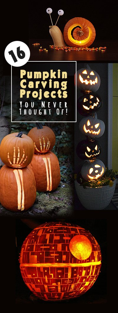 16 cool pumpkin carving ideas you never thought of! the garden glove