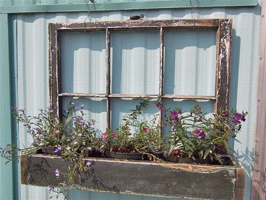 Thrift Store DIY Garden Projects
