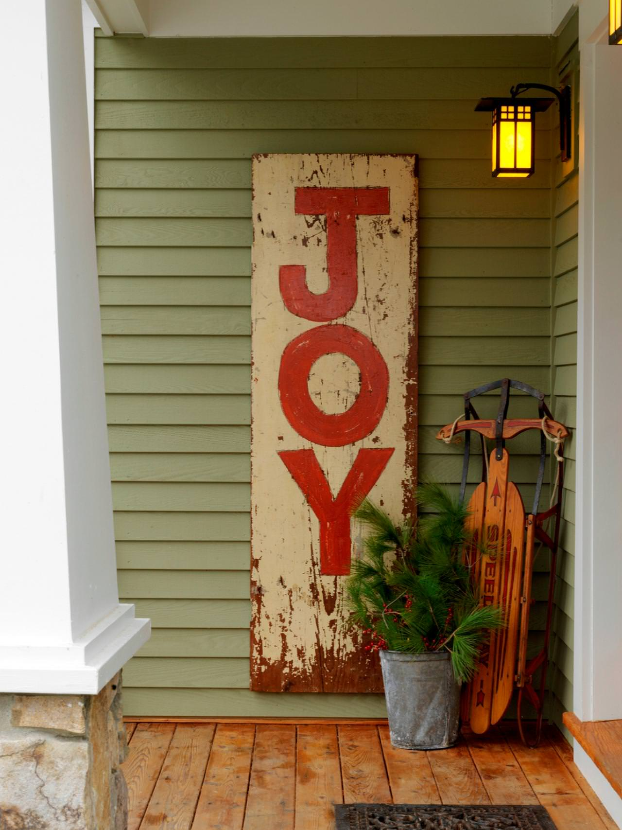 Creative Front Porch Christmas Decorations The Garden Glove