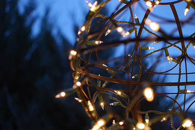 Holiday Light Globe Hack