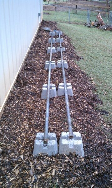 Super easy DIY firewood racks- 9