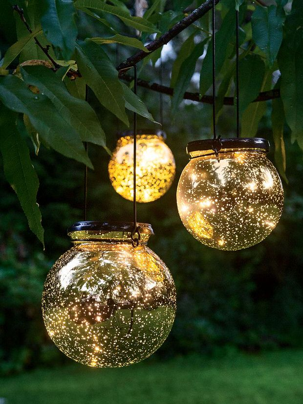 another choice from gardeners this led fairy dust ball is a