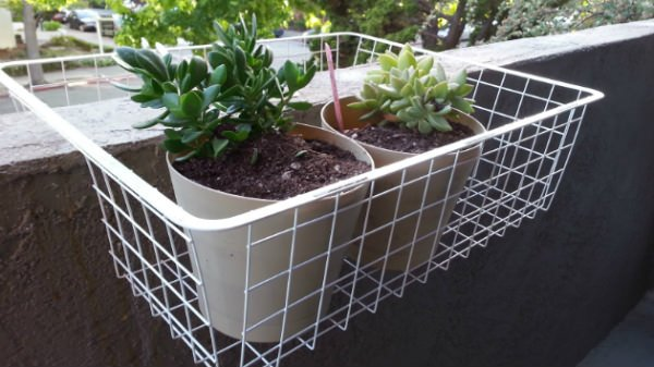 Ikea hack planter-8