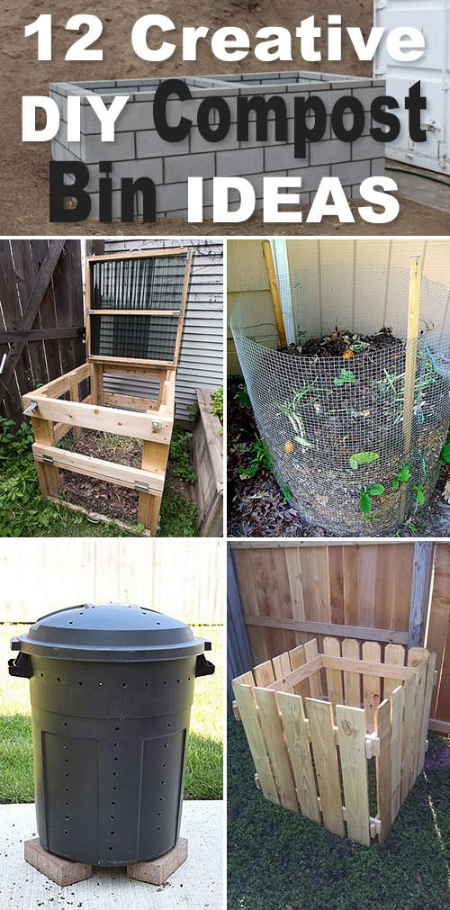12 Creative Compost Bin Ideas