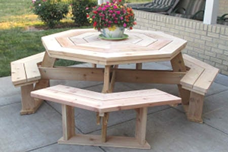 Brilliant Diy Outdoor Dining Table Projects The Garden Glove Gmtry Best Dining Table And Chair Ideas Images Gmtryco