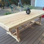 DIY Outdoor Dining Tables