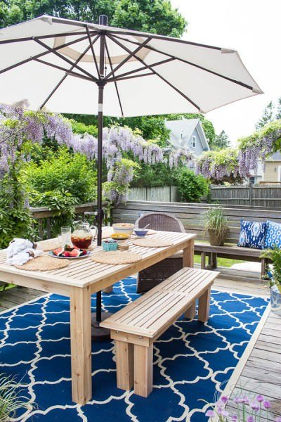 DIY outdoor dining tables-6