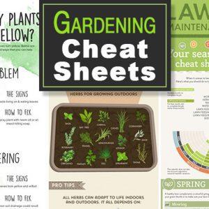 Gardening Cheat Sheets